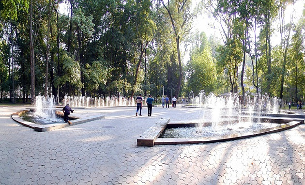 фонтан на блонье