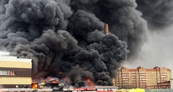 пожар смоленск