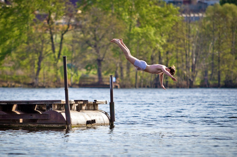 купальный сезон в Смоленске