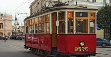 ретро-трамвай смоленск