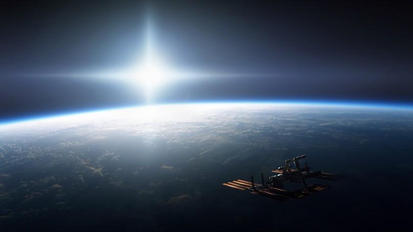 МКС над Смоленском