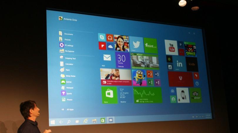 Windows 10 презентация