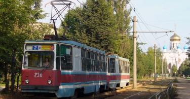 Трамваи №2 и №4 изменили маршрут