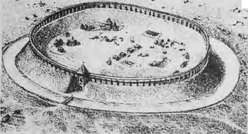 Городище Ельня крепость