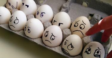 Тухлые яйца вернули беларусам