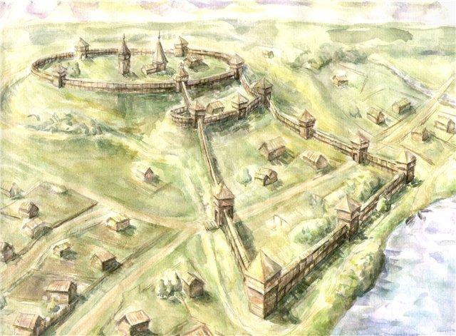 Дорогобуж реконструкция крепость