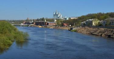 Уровень Днепра в Смоленске