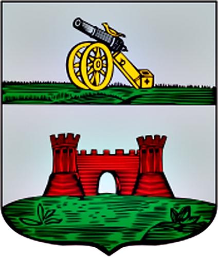 Посёлок Красный герб