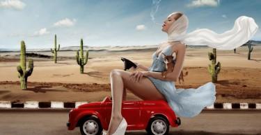 Автомобильное многоборье среди женщин