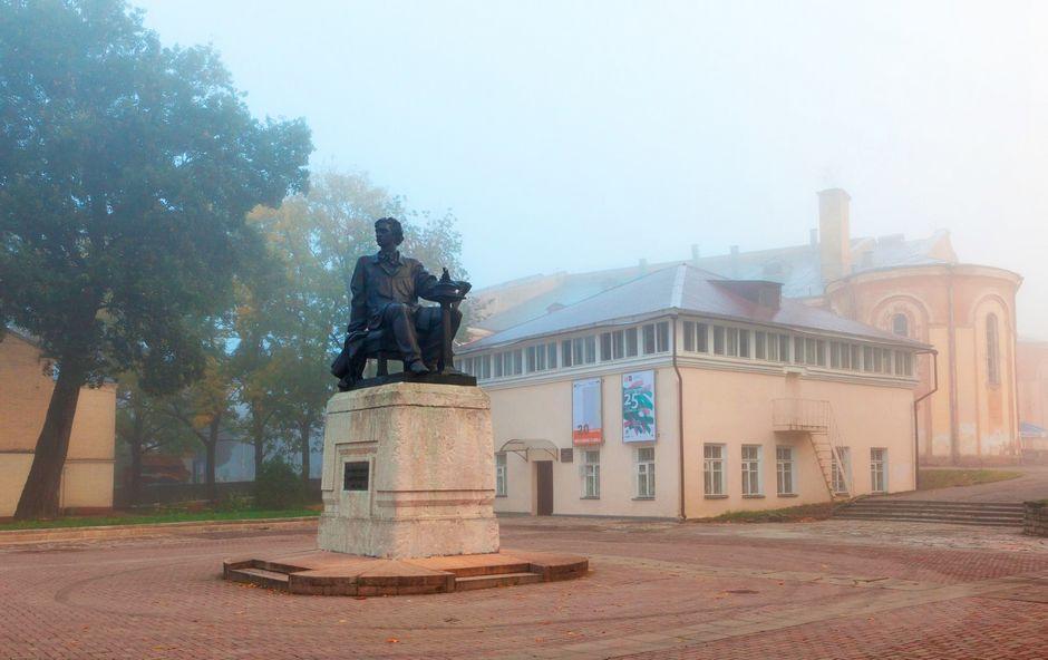 Смоленск памятник Микешину