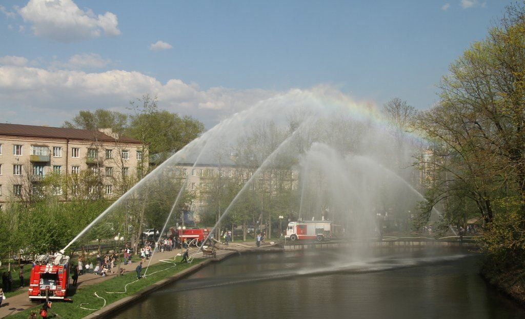 пожарные Лопатинский сад Смоленск