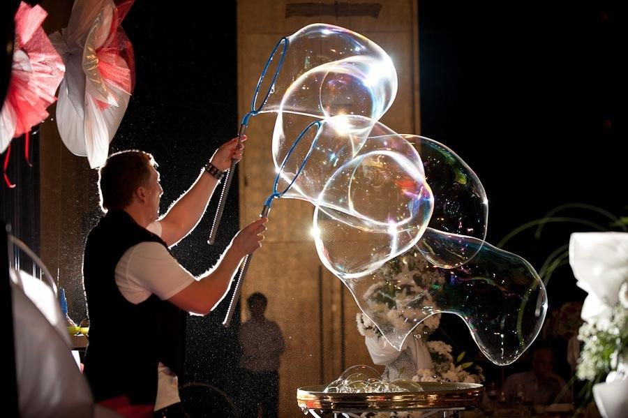 шоу мыльных пузырей смоленск