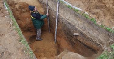 Археологические раскопки на месте древнего Смоленска