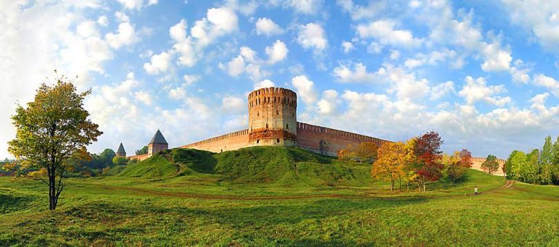 смоленск крепостная стена