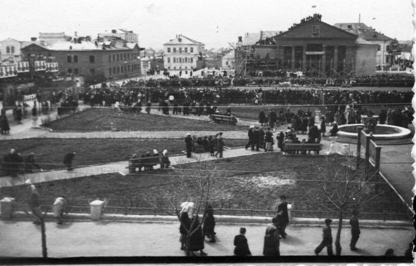 Рославль революция главная площадь
