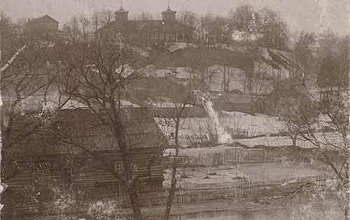 Рославль 19-20 век Бурцева гора