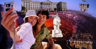 На площади Ленина произошло проседание грунта keytown.me