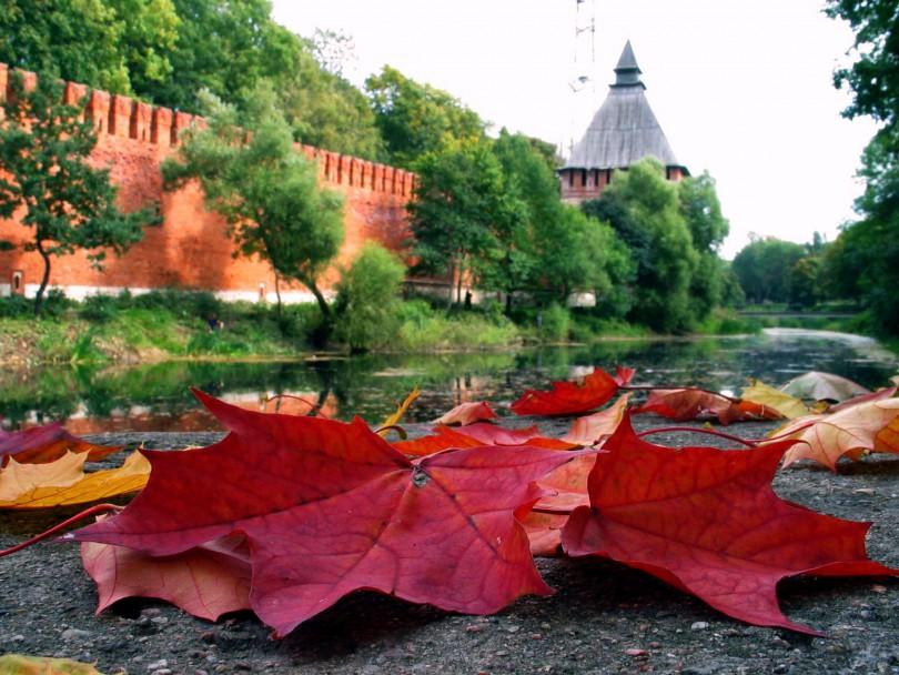 Смоленск осень