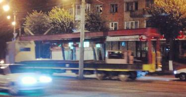 трамвай ремонт