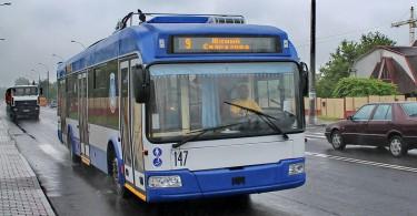 троллейбус на автономном ходу смоленск