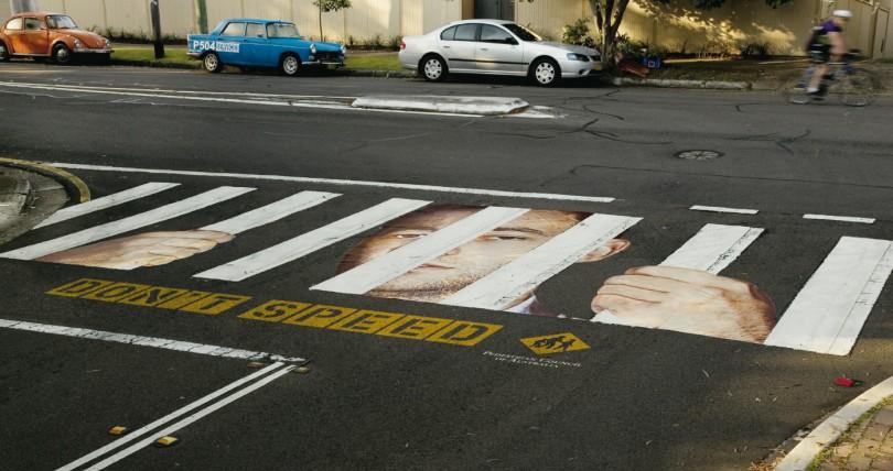 акция пешеходный переход