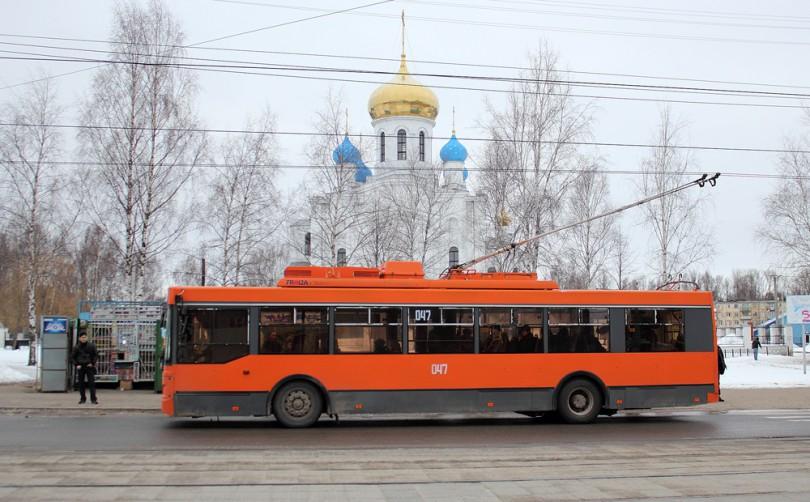 троллейбус смоленск