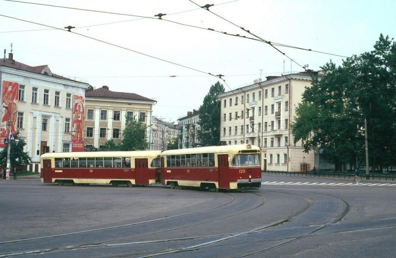 трамвай Смоленск