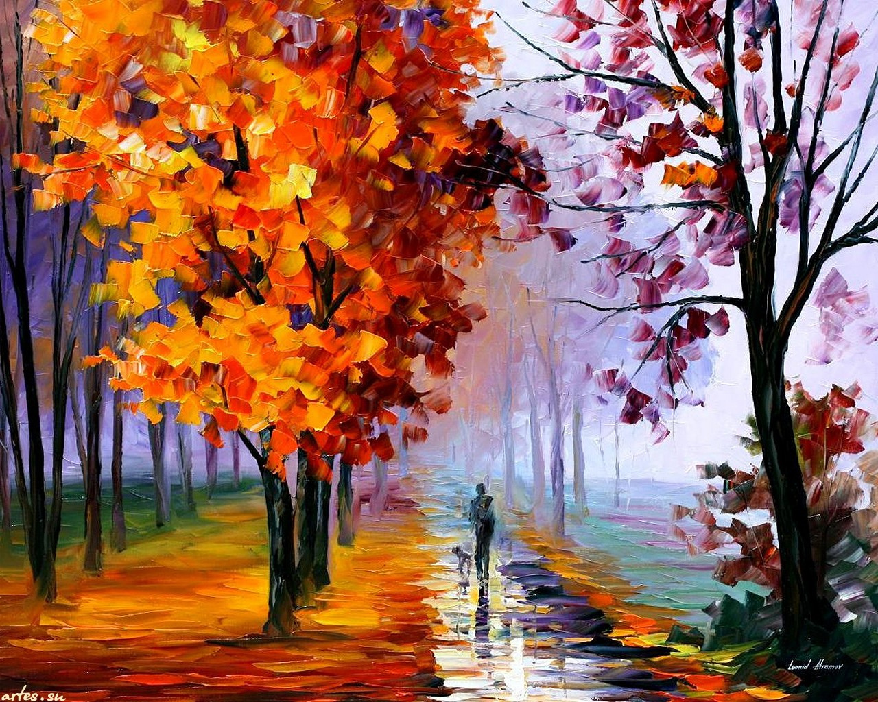Рисунок осень фото 5