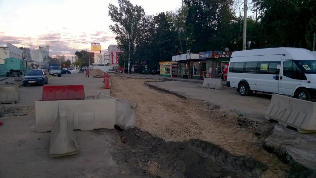 Ново-Московская улица, смоленск, ремонт