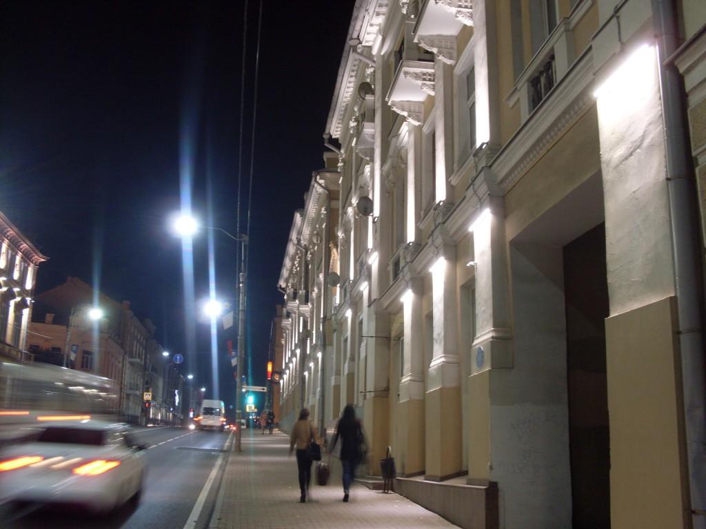 освещение Смоленск улицы
