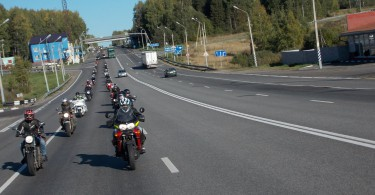 Закрытие байкерского сезона Смоленск