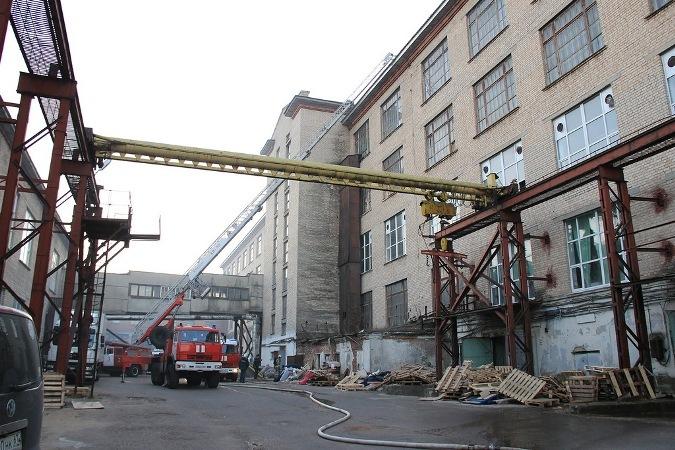 пожар в ДК шарм смоленск