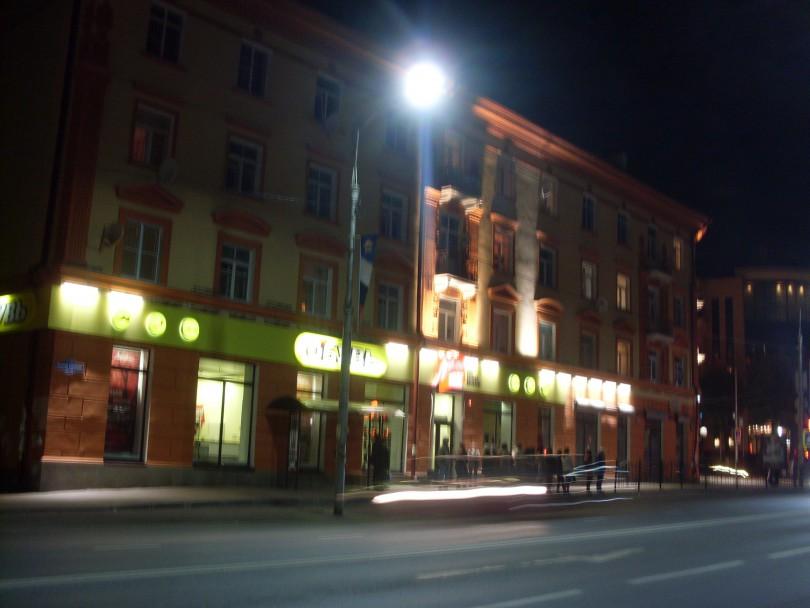 освещение улицы Смоленск