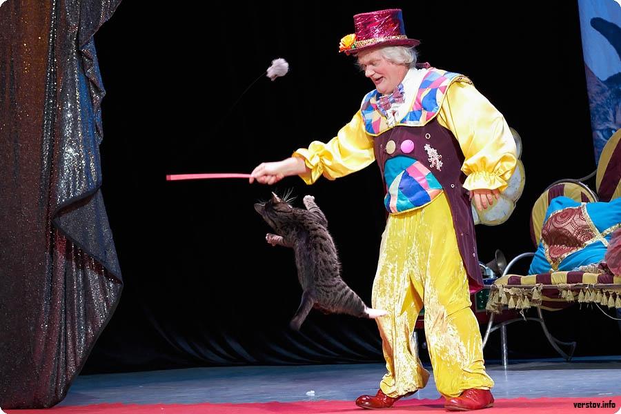 афиша театр кошек куклачева