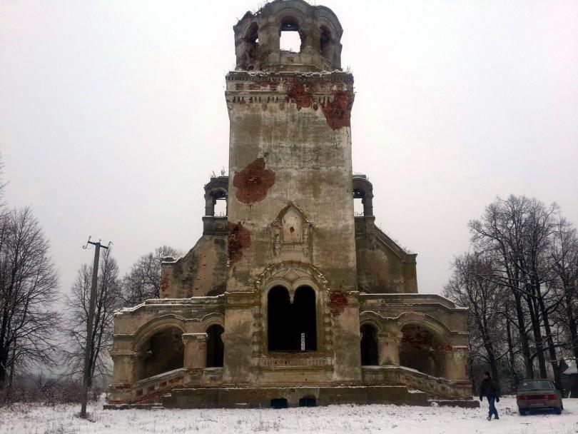 Успенская церковь, XVIII века в Хиславичском районе