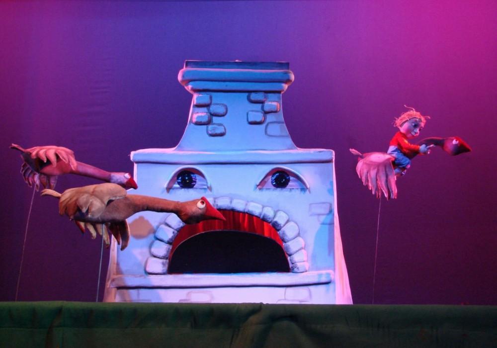 театр кукол гуси-лебеди афиша