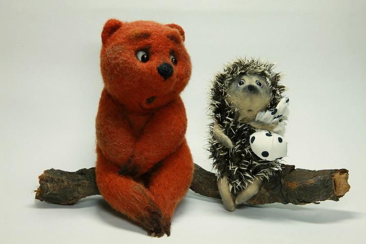 афиша ёжик и медвежонок