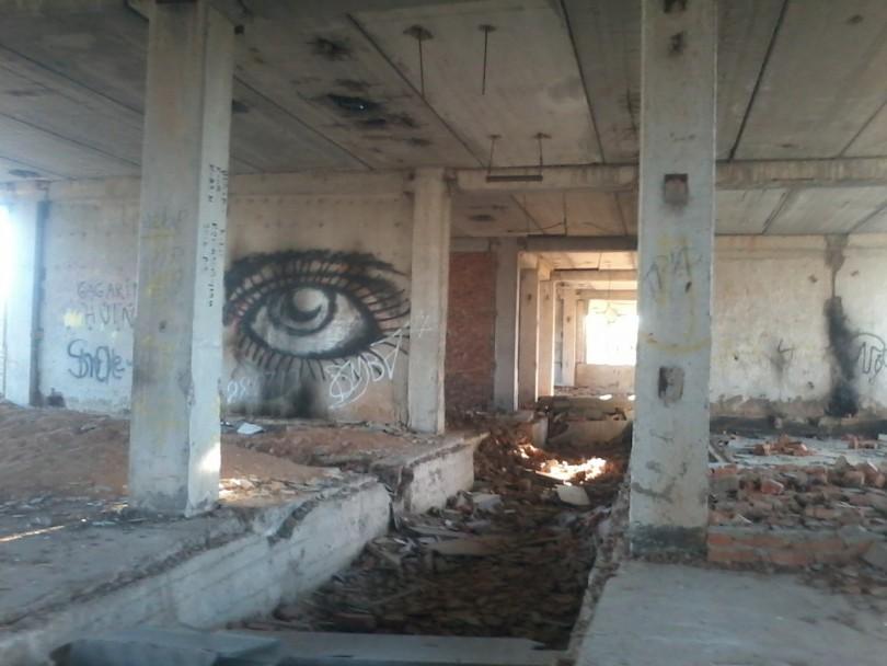Мёртвый город в Гагарине