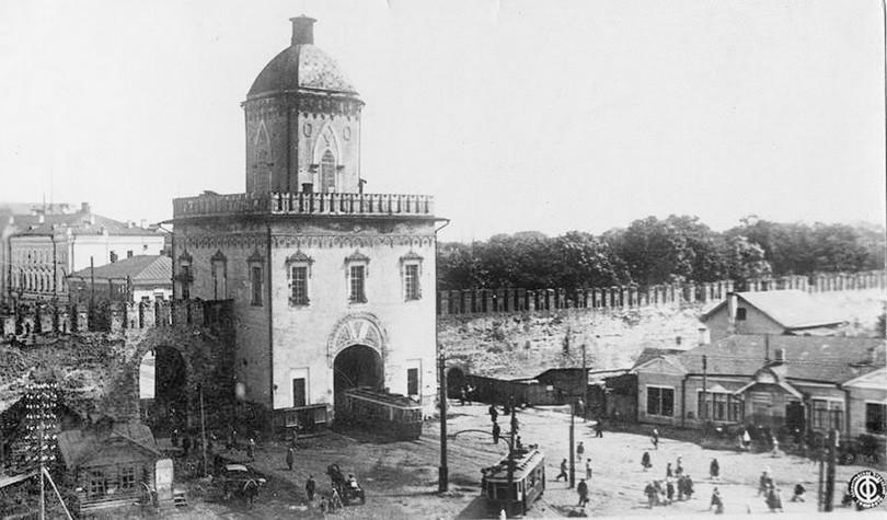 молоховская башня смоленск крепость