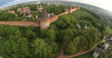Смоленская крепость Бастионы России