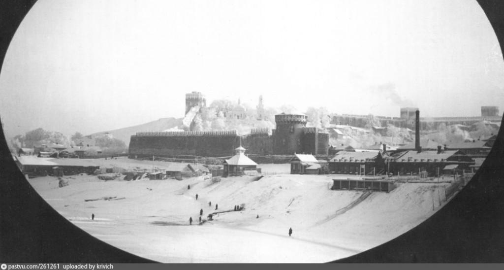 1890—1905 костыревская башня смоленская крепость