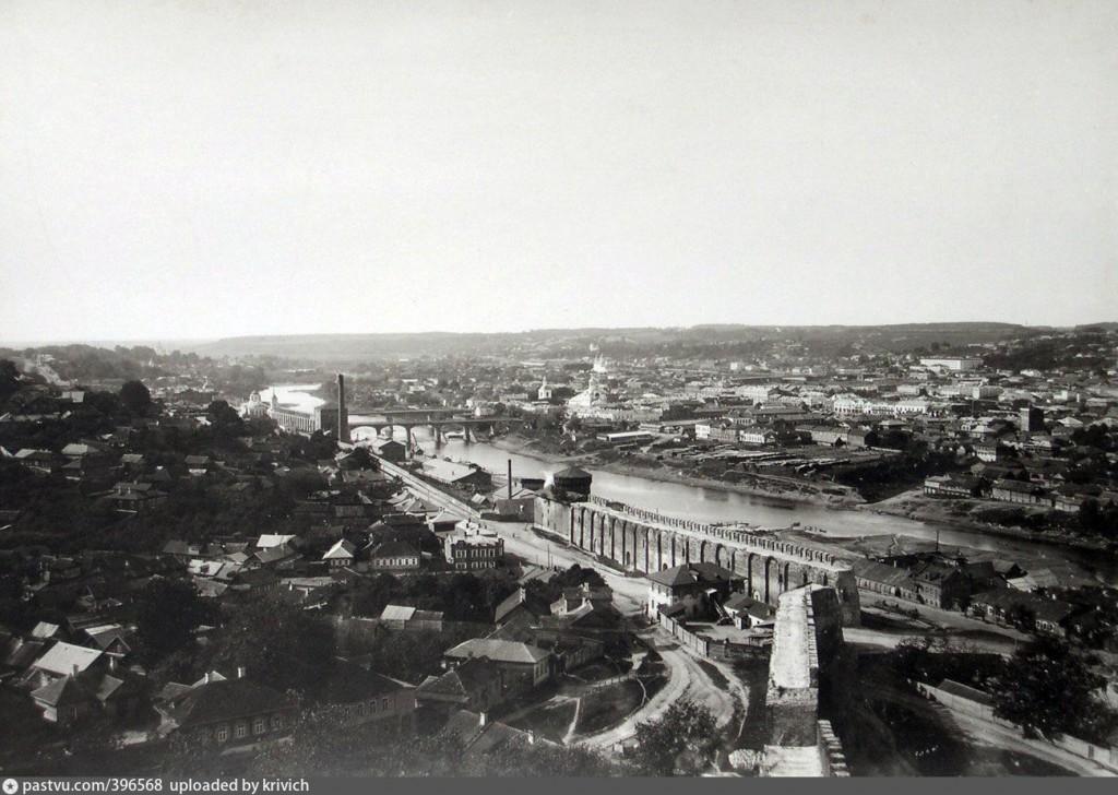 1901-1904 костыревская башня смоленская крепость