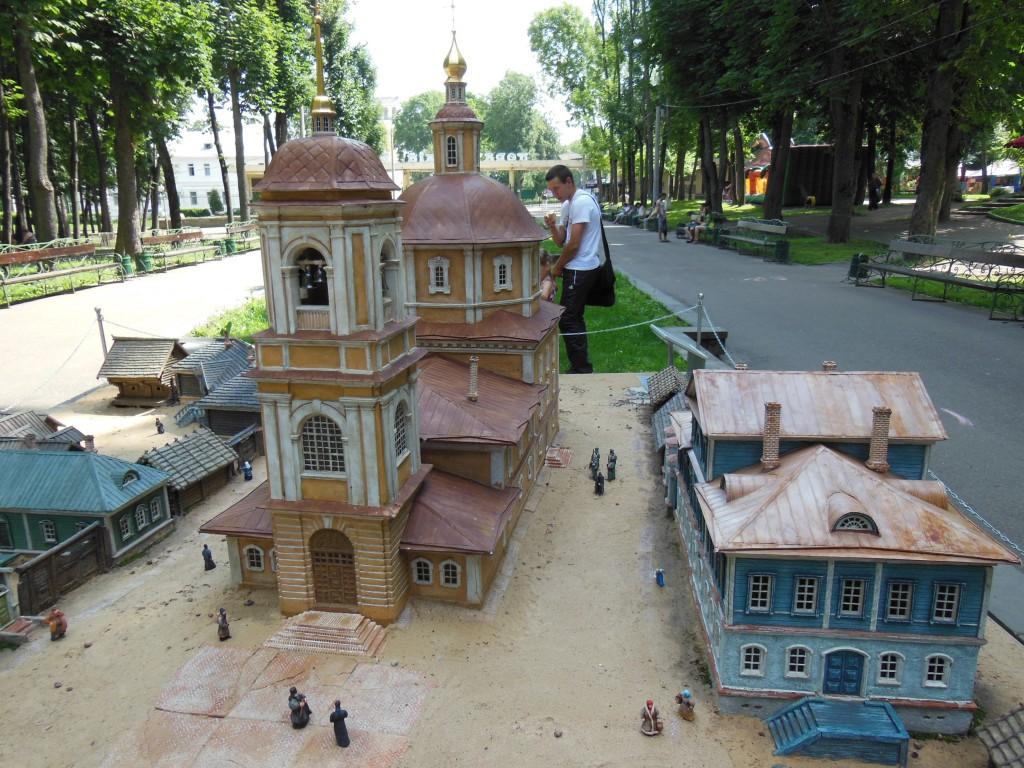 одигитриевская церковь Смоленск макет Лопатинский сад