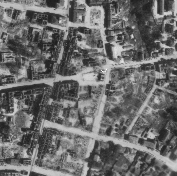 аэрофотосъемка 1941-1942 Смоленск