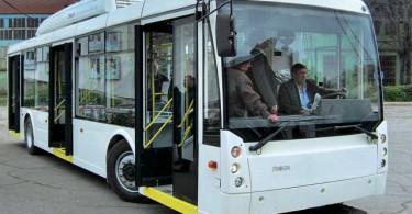 бесконтактный троллейбус смоленск