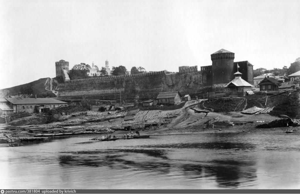 костырёвская башня красная смоленская крепостная стена