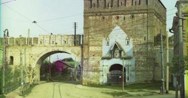никольские ворота Смоленск крепость