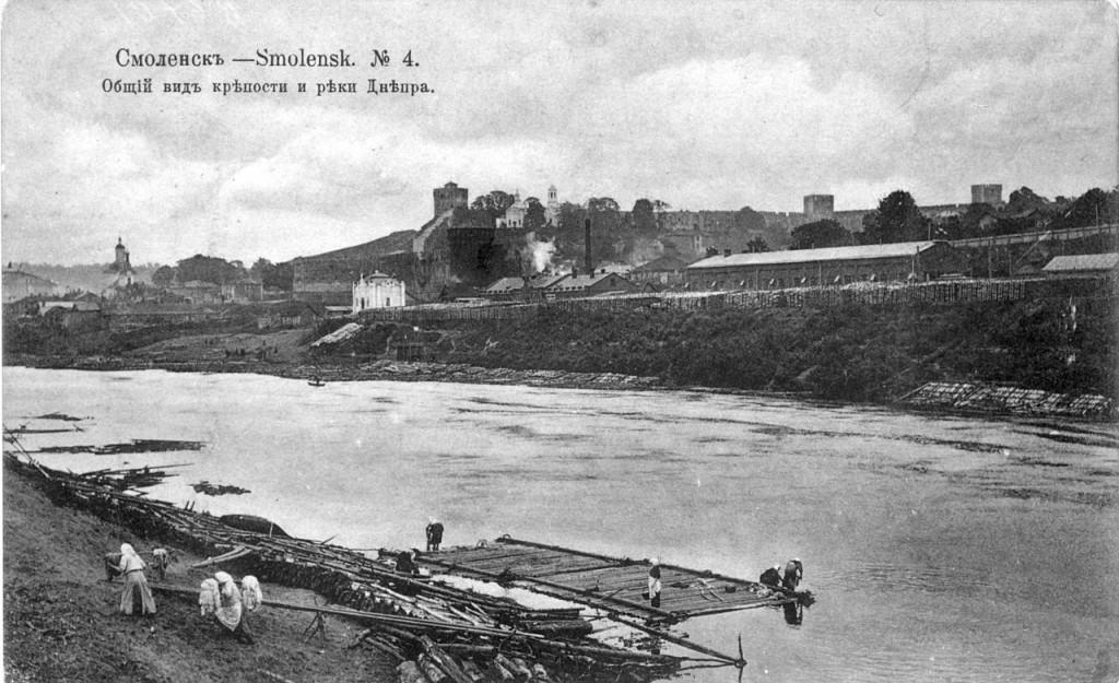 ранее1917 костыревская башня смоленская крепость
