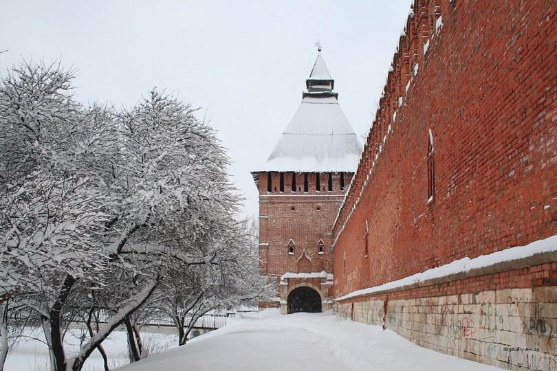 смоленск зима снег
