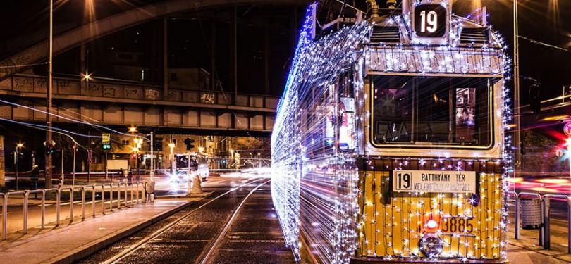 транспорт новый год